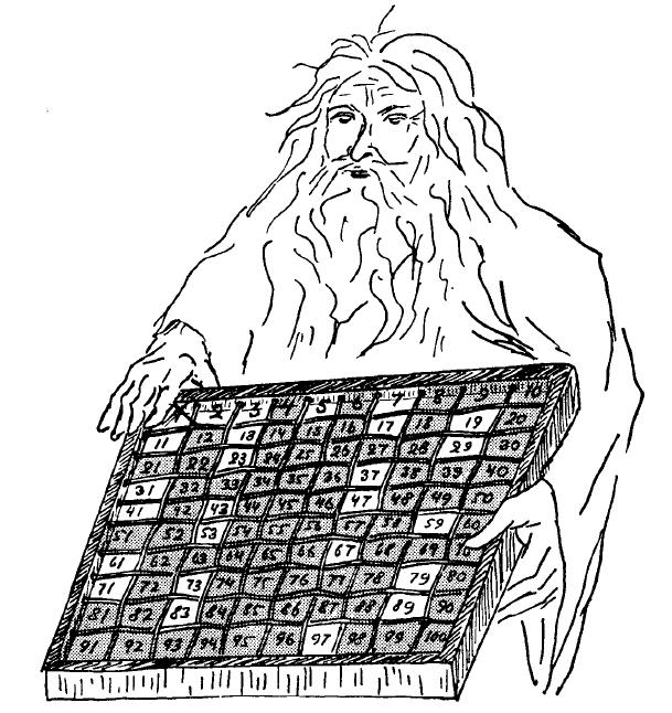 La matematica pi pura fogli sparsi - Tavole dei numeri primi ...
