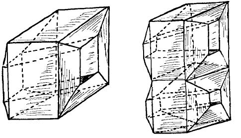 Figura 4 - Due rivali del cubo ordinario: con uno e due fori. Le facce sono sono regolari ma, come abbiamo visto, in topologia non ha importanza