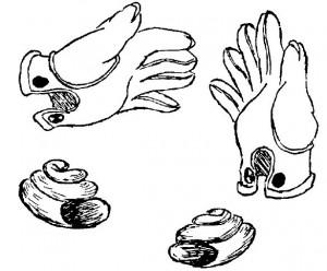 figura 4 - Oggetti destrorsi e sinistrorsi sembrano del tutto identici, in realtà sono molto diversi tra loro
